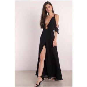 Tobi Be Seen Black Maxi Dress